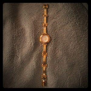 Vintage Gold Watch - Anne Klein II